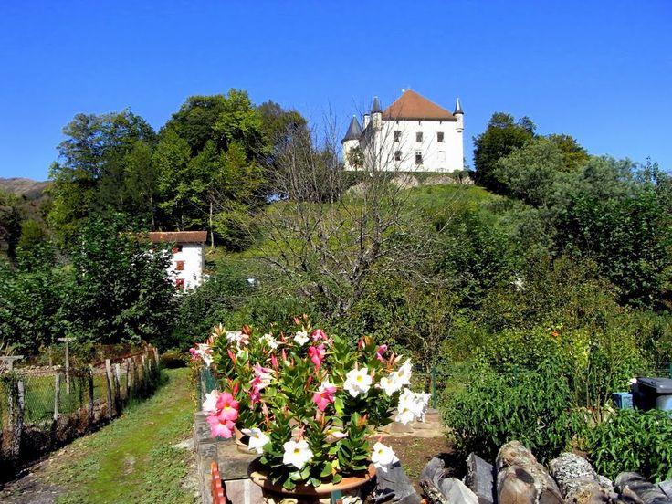 Saint-Étienne-de-Baïgorry      le chateau
