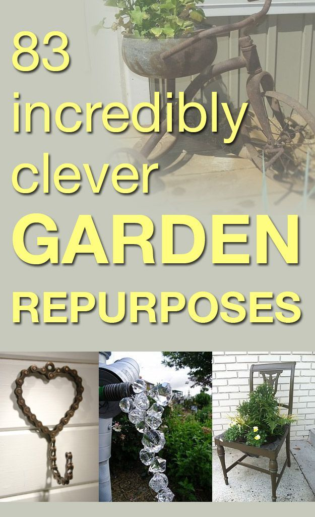 I love adding pretty little touches to my garden—give your garden a gorgeous update with these genius recycling ideas!
