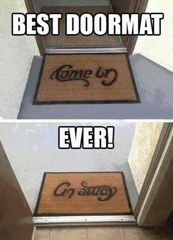 Nice Best Doormat Ever