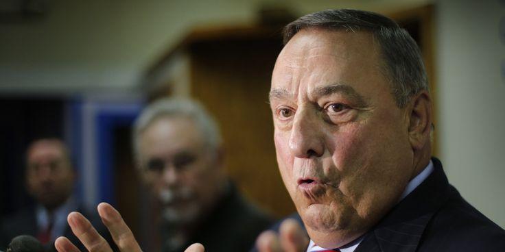 Maine Gov. Paul LePage Sends State Police To Enforce Ebola Quarantine