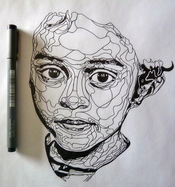 Continuous Contour Line Drawing Definition : Best line drawings images on pinterest doodles