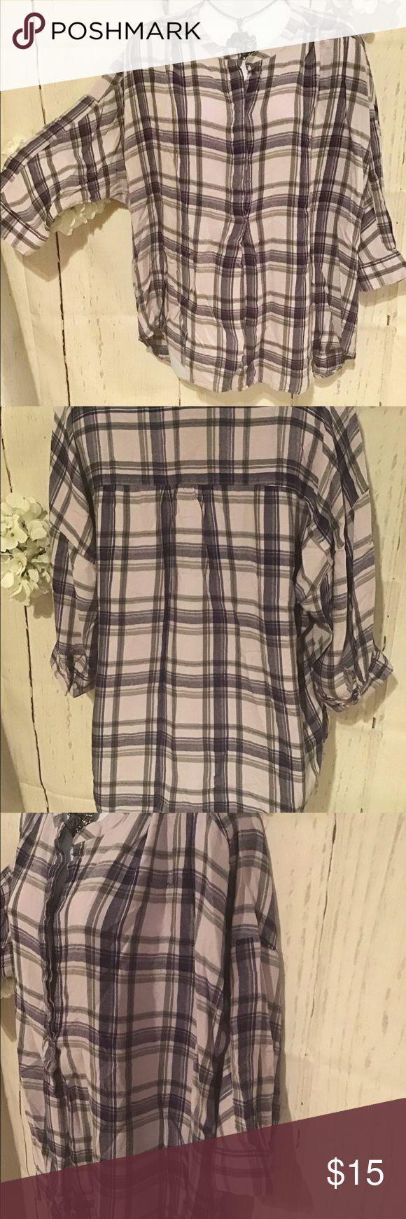 Lane Bryant hip length soft blouse women…