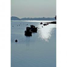 Artiste Colle chic créations : Gwen, capte comme personne la force et l'âme du pays breton où elle vit. Découvrez ses mini tableaux et ses visuels sur sets de table