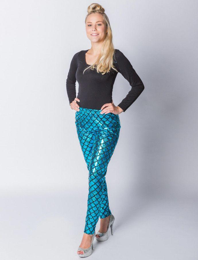958094a160 Meerjungfrau Hose (blau) für Karneval kaufen | Deiters | Kostüm | Karneval  | Fasching