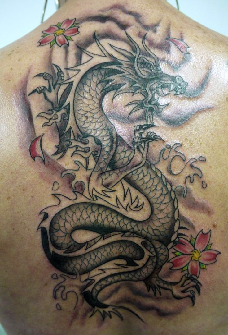 Route 66 tattoo picture at checkoutmyink com - This Dragon Tribal Tattoo Design Is Suitable For Your Back