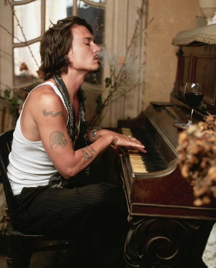 Johnny Depp photographed by Mark Seliger in 2003