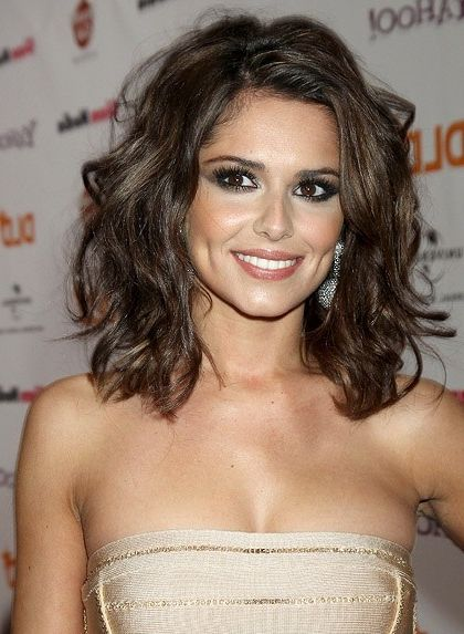Gorgeous medium hair on the beautiful Cheryl