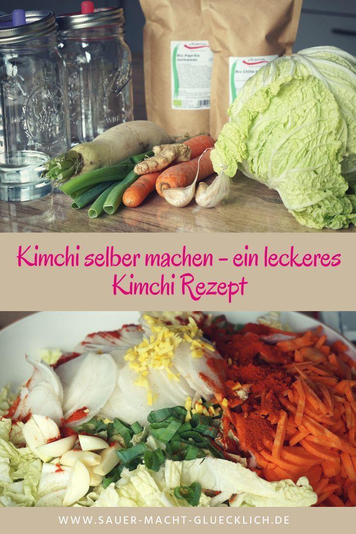 Kimchi selber machen -...