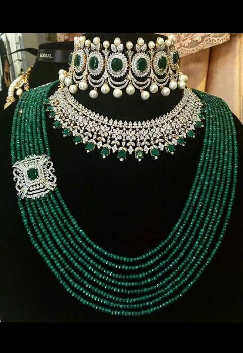 Need I say anthing about these pieces? A stunning combination to behold -wow!