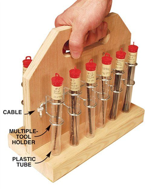 Wood carving tool caddy woodworking projects plans
