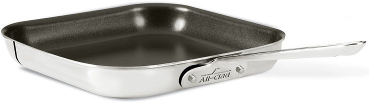 All-Clad Stainless Steel 11-Inch Nonstick Square Griddle