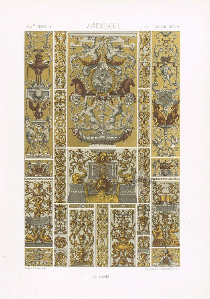 Dupont Auberville Decorative Prints 1877