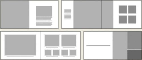 History Book Layout Design | More examples of book layout design