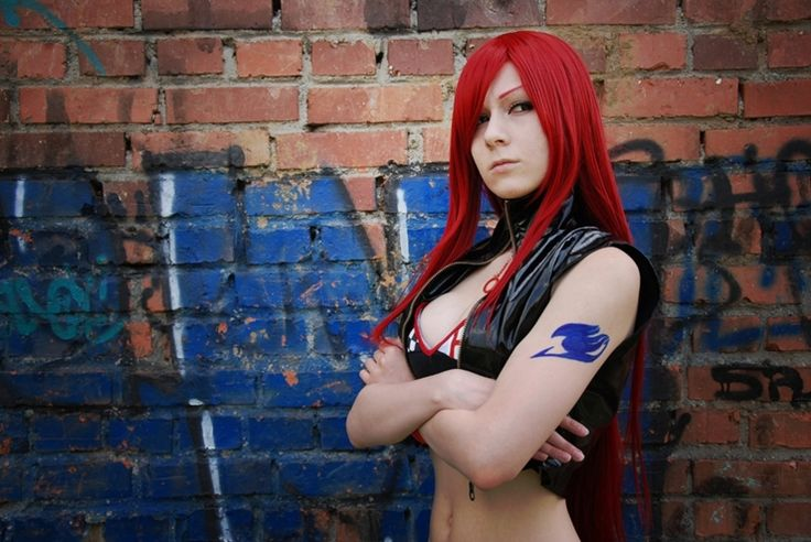 Erza Scarlet Fairy Tail Cosplay