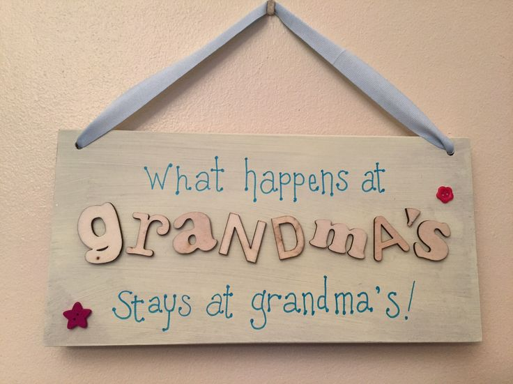 What happens and Grandma's...... by EveAmberLay on Etsy https://www.etsy.com/uk/listing/294427391/what-happens-and-grandmas