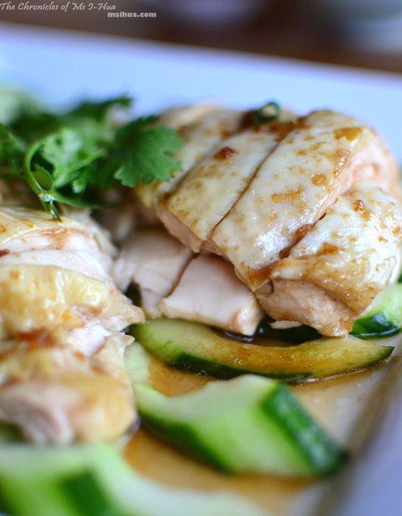 Hainanese Chicken Rice (Poached Chicken) Recipe