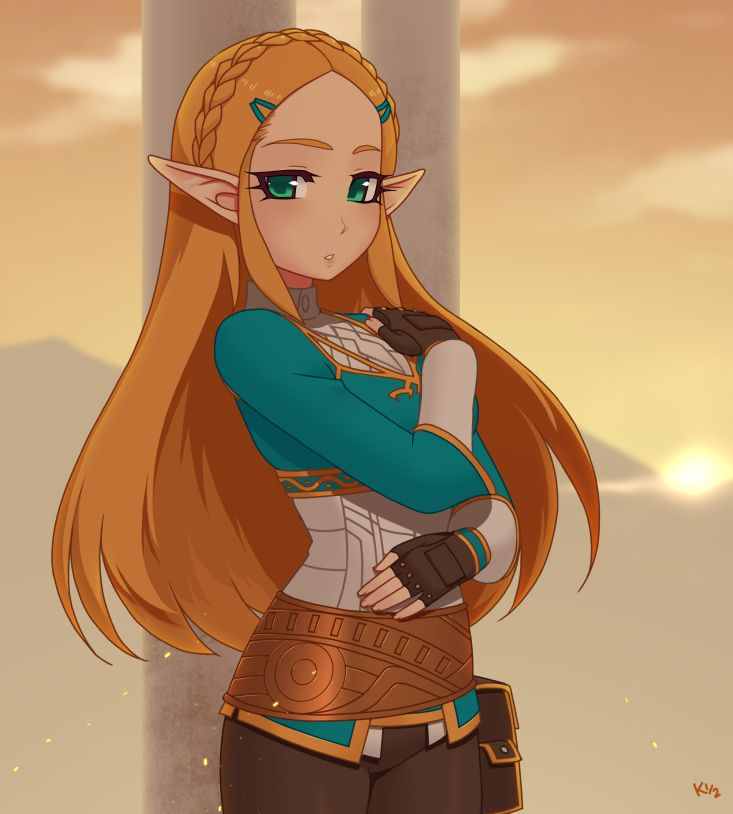 Zelda BOTW by Kuroonehalf.deviantart.com on @DeviantArt - More at https://pinterest.com/supergirlsart/