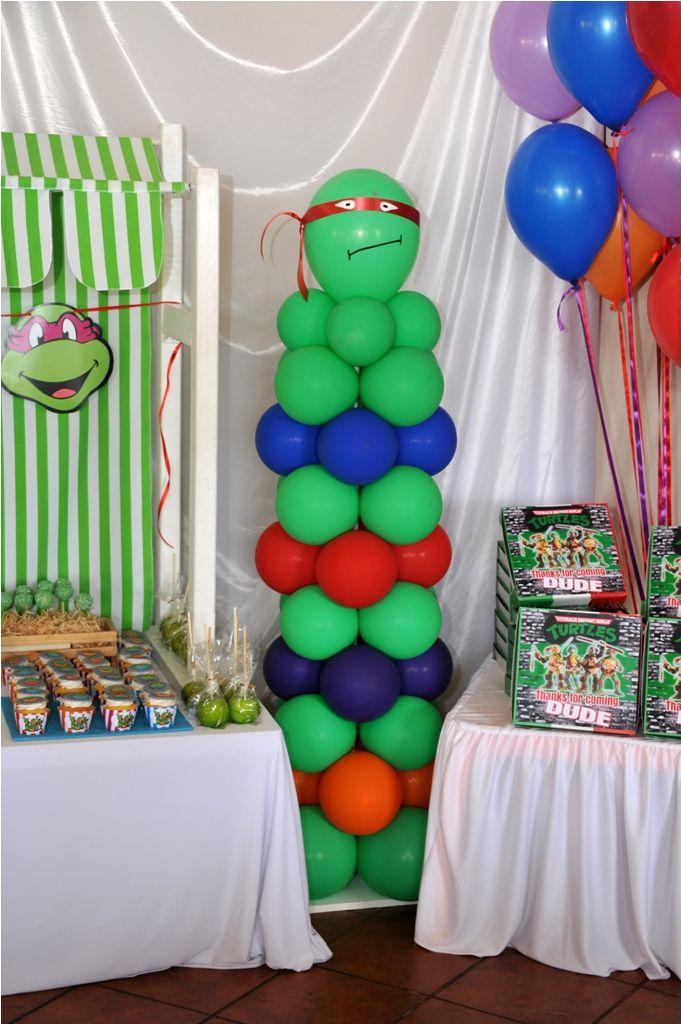 Teenage Mutant Ninja Turtle Column