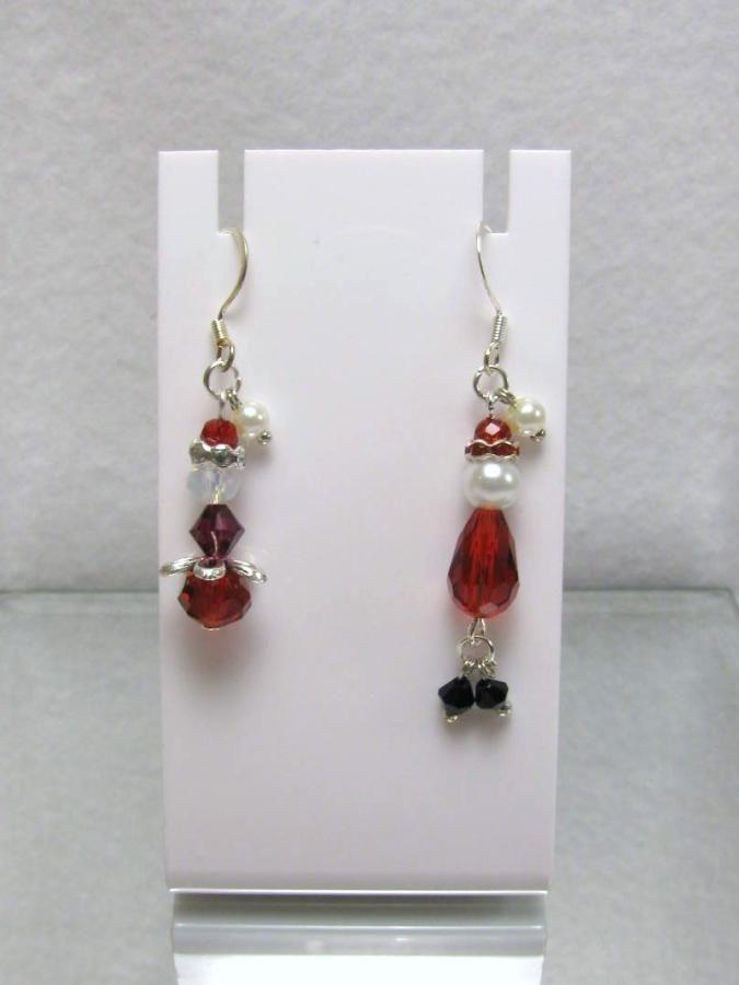 Mr & Mrs Santa - Jewelry creation by Linda Foust