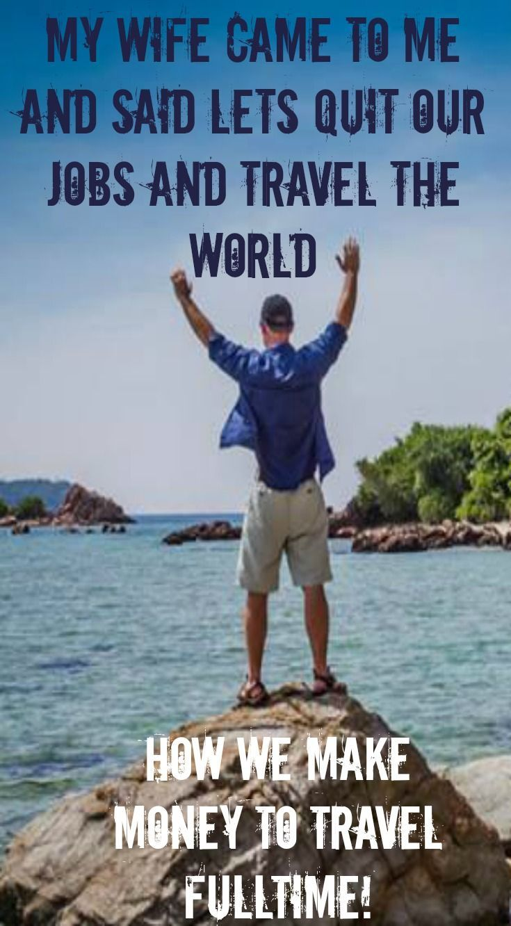 My wife came to me and said lets quit your jobs and travel the world. How we make money to travel full-time and while doing what we love! This is a insiders look on what you need to do if you want to make money while traveling the world! http://www.divergenttravelers.com/freedom-business-quit-the-cubicle/