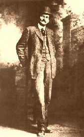 """It was at the saloon that Pat Garrett met and often gambled with William Bonney, better known as Billy the Kid. The two were seen together so often they soon took on the nicknames of """"Big Casino"""" and """"Little Casino."""" On November 7, 1880, Garrett was appointed as the Lincoln County Sheriff. Friends or not, his first vow was to bring the current reign of lawlessness to an end with the primary goal of apprehending Billy the Kid."""
