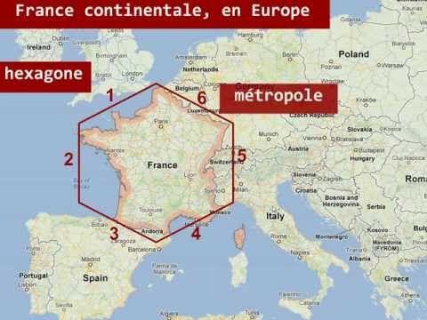 ▶ Le territoire français: la France d'aujourd'hui - Métropole et outre-mer - YouTube