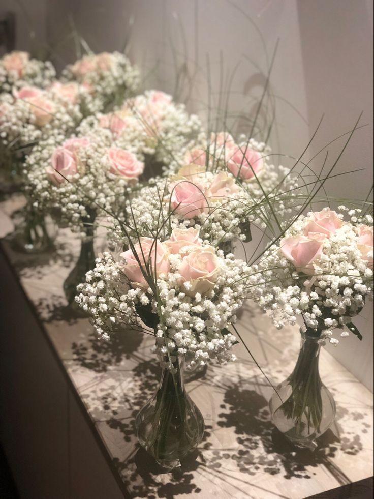 Centre de table mariage – Les Fleurs d'Agrippine