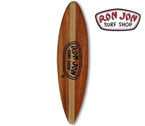 We need an second hand or broken wooden surfboard.