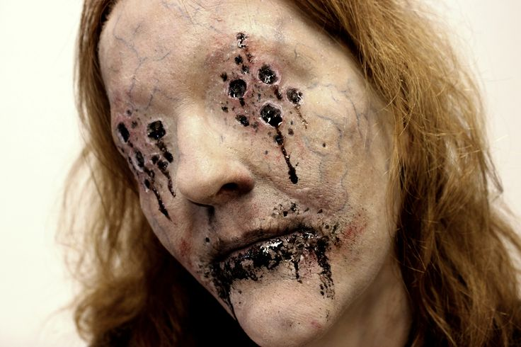 """Makeup test-for """"Morbus"""" a short film. By Reel Twisted FX"""