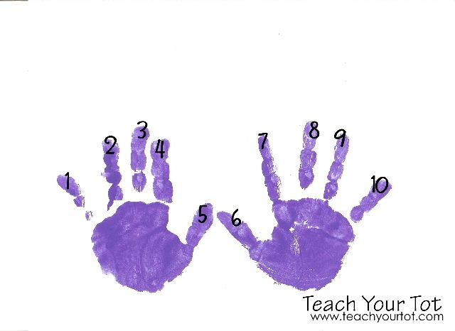 Teach Your Tot: Numbers 1-10