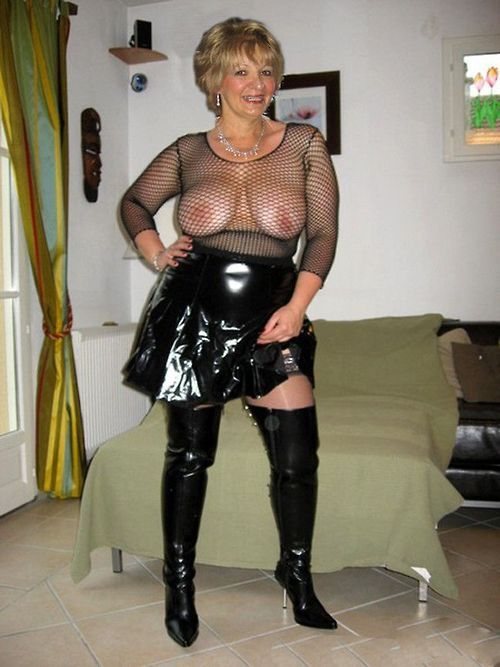 granny big ass latex undertøy