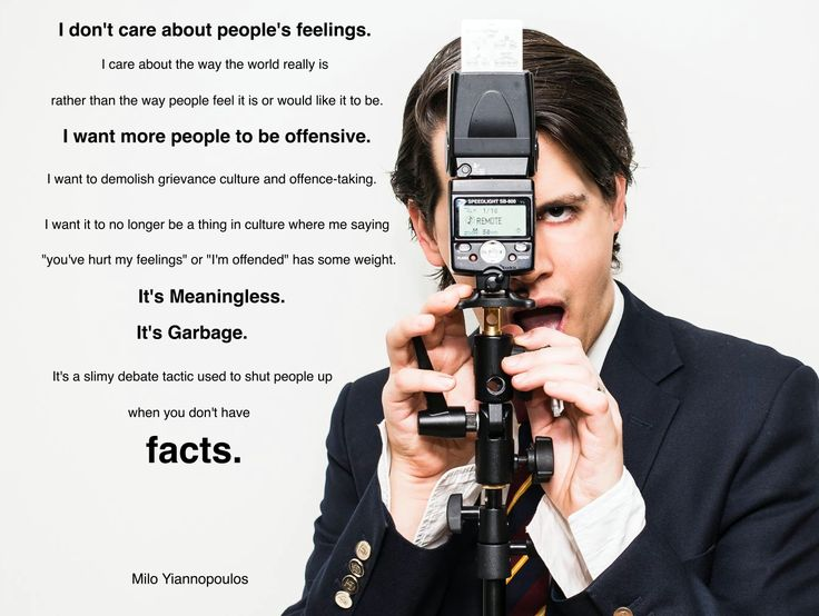 Milo Yiannopoulos quote.  -  Hitler controlled speech, in the same way the left currently is.
