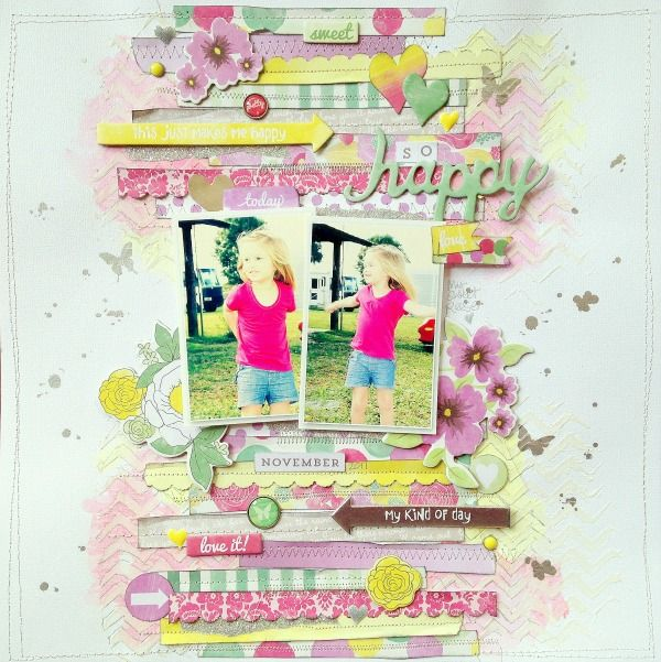 Missy Whidden for MME ~Love the mix of ink, paper and chipboard. Great depth!