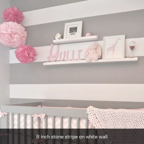 Sold by the roll, Easy Stripe is self-adhesive striping used to decorate walls, doors, bikes, laptops, autos & more. It sticks easily and removes clean. Wrap your room with one horizontal stripe or sp