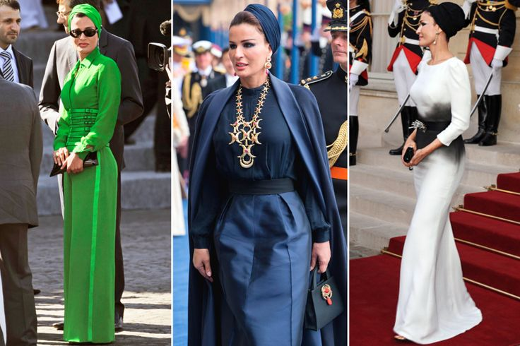 H.H. Sheikha Mozah Bint Nasser al-Missned of Qatar is inducted into the 2015 Hall of Fame.