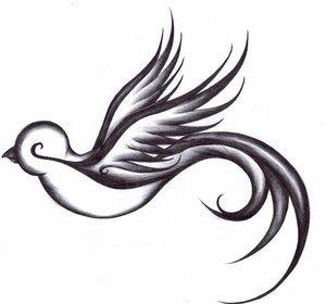Dove tattoo- unworthy yet loved.  I just think it is beautiful!