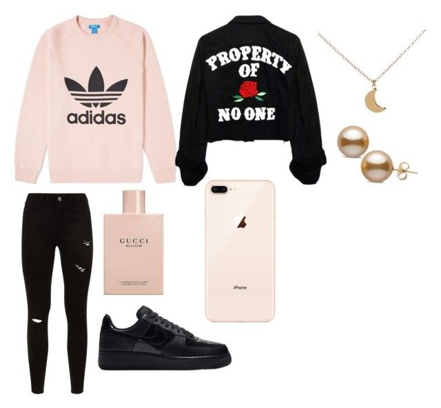"""""""Untitled #574"""" by thahera00 on Polyvore featuring adidas Originals, Gucci and NIKE"""