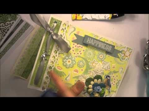 ▶ Альбом из конвертов - Скрапбукинг мастер-класс / Aida Handmade - YouTube
