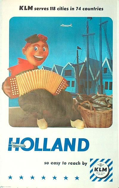 Holland with KLM, 1960