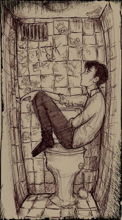 I sort of see this as Sherlock's mind palace when he was younger.
