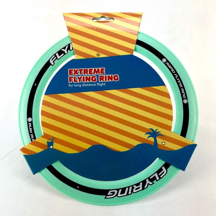 Kids Dogs Toys Flying Ring Throwing Distance Frisby Frisbee Holiday Park Play