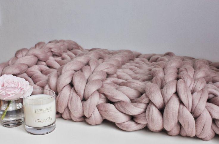 Now selling: Giant Knit Blanket, Mink Knit Throw, Chunky Knit Throw, Blush Merino Blanket, Giant Knit Blanket, Pink Throw, Housewarming Gift, Wool Throw https://www.etsy.com/listing/520100798/giant-knit-blanket-mink-knit-throw?utm_source=crowdfire&utm_medium=api&utm_campaign=api