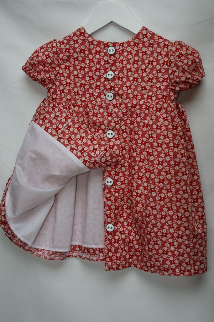 old-fashion baby dress