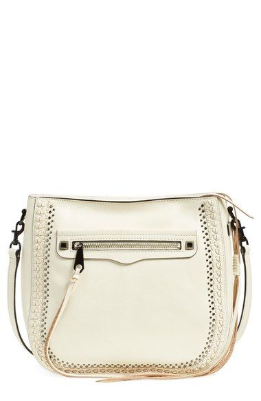 Rebecca Minkoff 'Regan Feed' Studded Bag available at #Nordstrom
