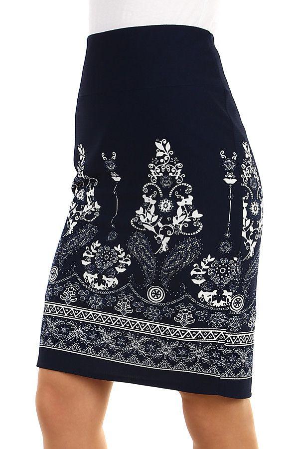 cfe836944fdb Dámská pouzdrová retro midi sukně - koupit online na Glara.cz  glara   fashion