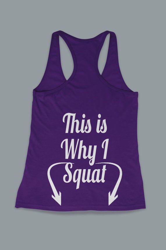 C'est pourquoi je Squat jambes d'entraînement par FitnessFreaks, $15.95