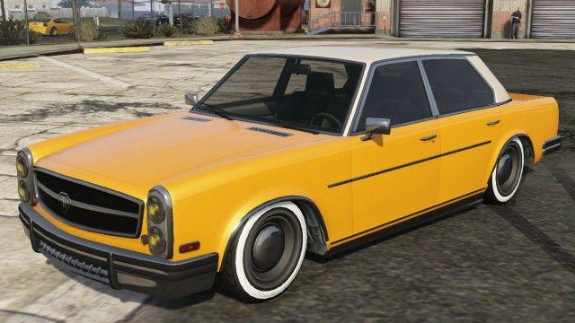 Yellow Benefactor Glendale Modded Gta Sedans Pinterest