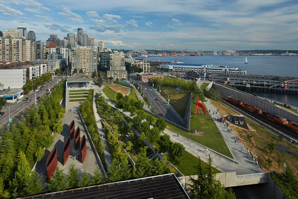Olympic Sculpture Park - Meeting & Event Planning in Seattle and the Puget Sound