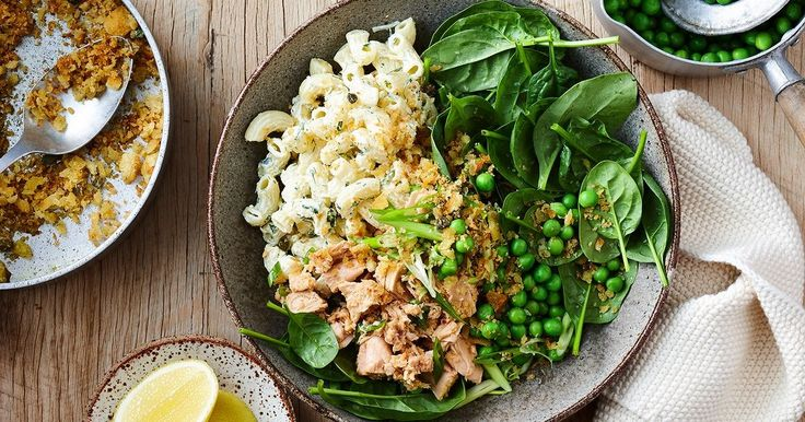 The classic tuna mornay has been transformed into a healthy dinner bowl the whole family will love.