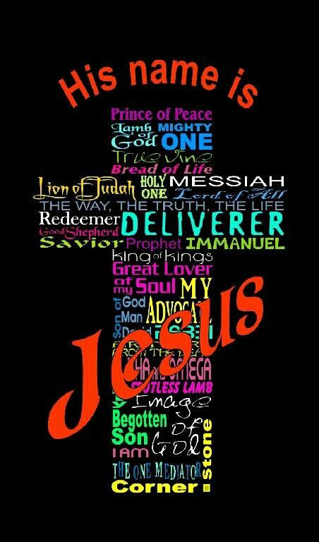 the different names of god according Find the names of jesus, including the savior and redeemer of the world there are over 200 names of jesus christ on this list.